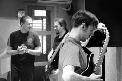 Группа «Время Жатвы» (репетиция)